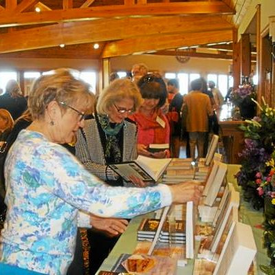 Annual author's luncheon on Saturday helped raise funds for the Susan B. Anthony Project.