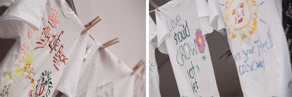 Clothesline Project