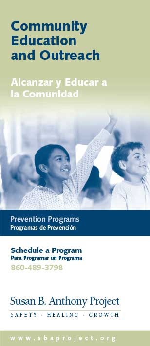 Community Education and Outreach Brochure