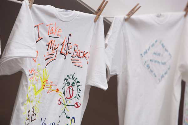 The Clothesline Project